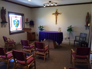 Chapel at St. Joseph House, Lent
